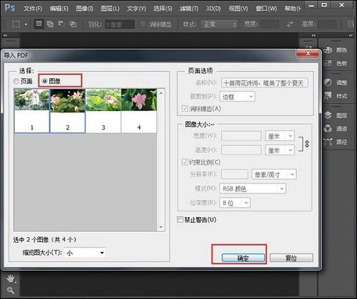 pdf提取图片方法